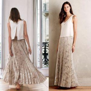 Anthro Moulinette Soeurs Midlight Maxi Skirt